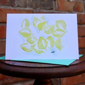 Greeting Cards- Gold